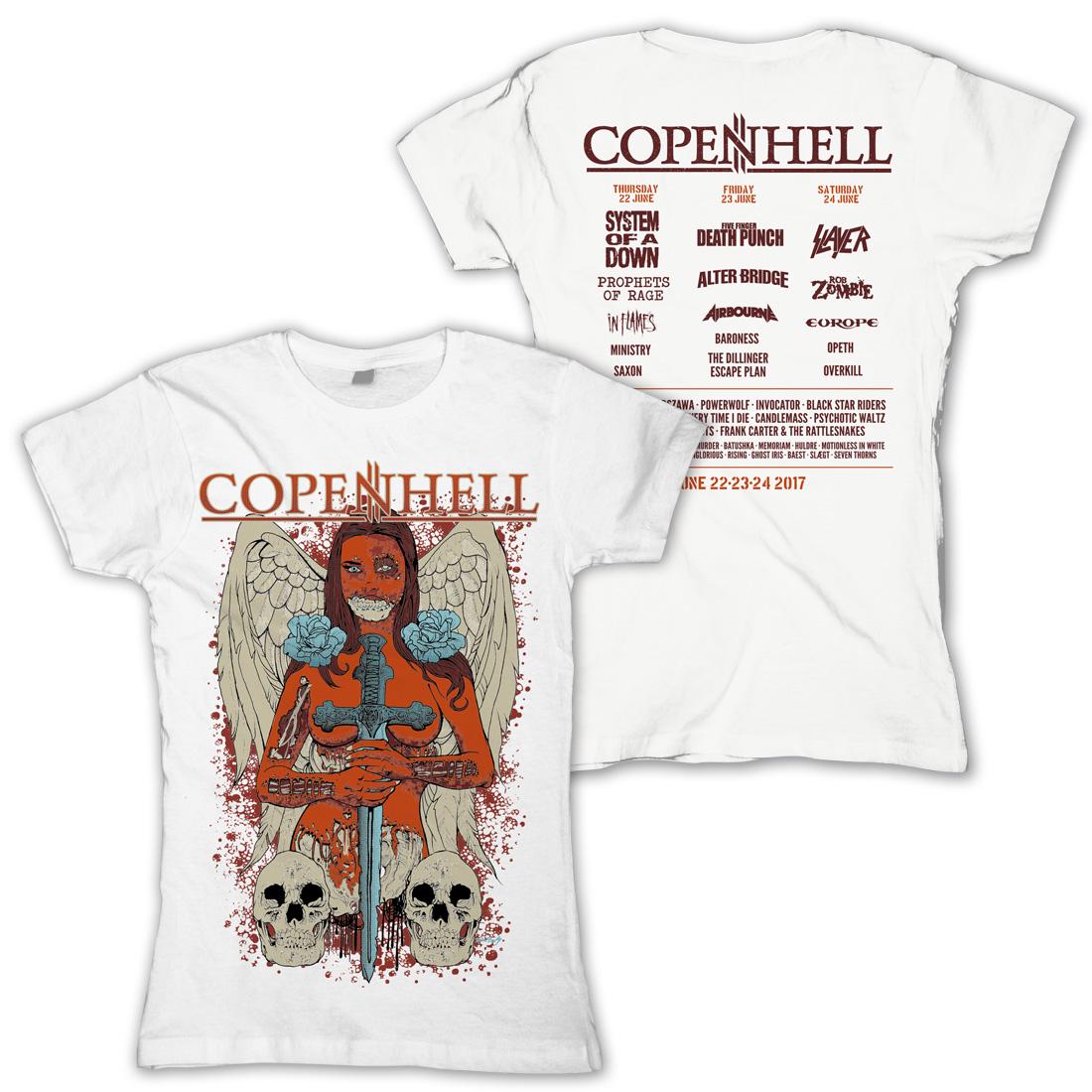 √Angel of Death von Copenhell Festival - Girlie Shirt jetzt im Copenhell Shop